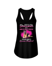 German Shepherd Diamonds 2106 Ladies Flowy Tank thumbnail