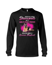 German Shepherd Diamonds 2106 Long Sleeve Tee thumbnail