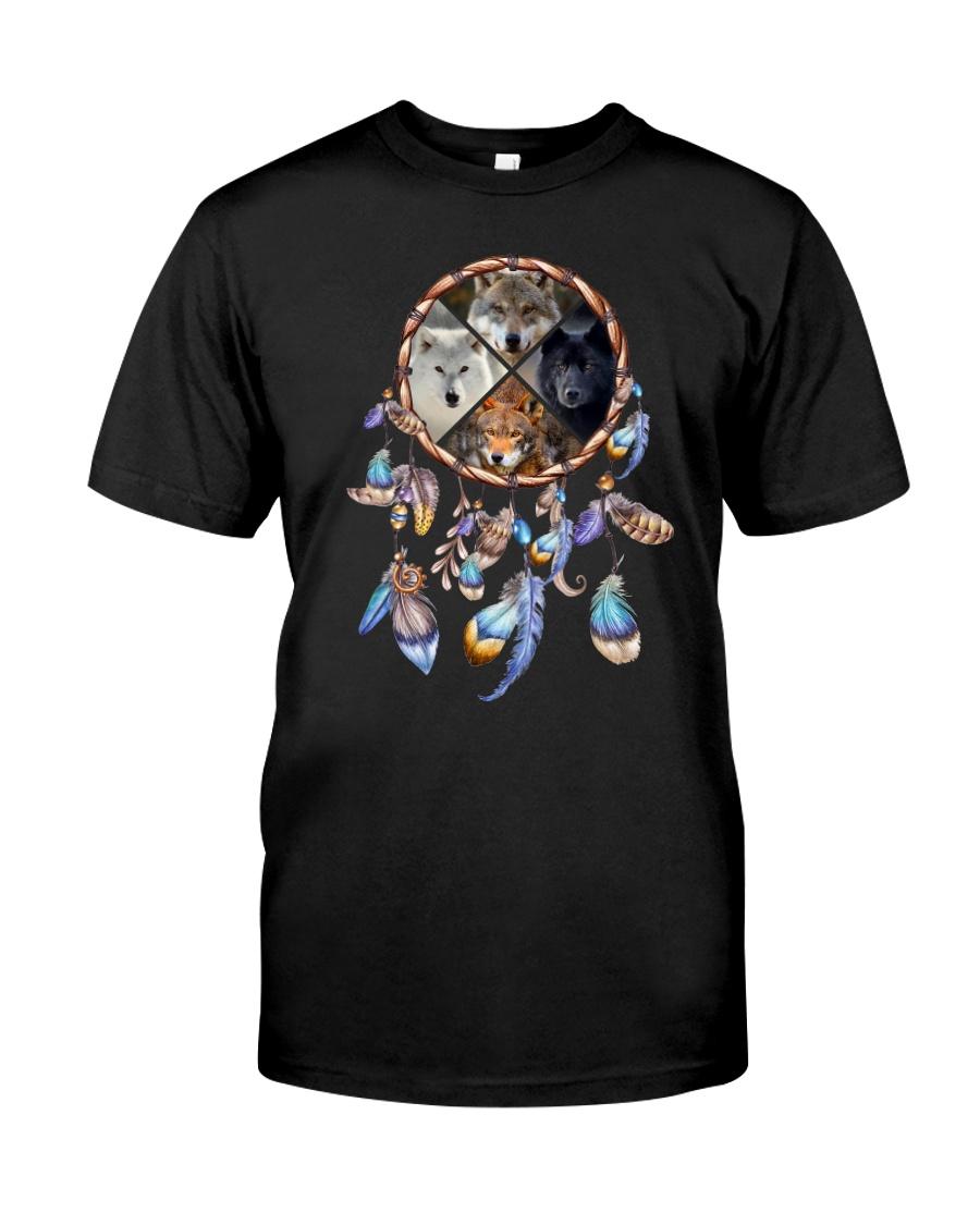 Wolf Dreamcatcher 2106 Classic T-Shirt