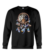 Wolf Dreamcatcher 2106 Crewneck Sweatshirt thumbnail