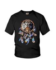Wolf Dreamcatcher 2106 Youth T-Shirt thumbnail