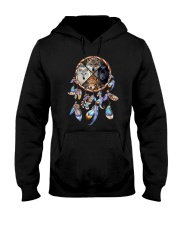 Wolf Dreamcatcher 2106 Hooded Sweatshirt thumbnail