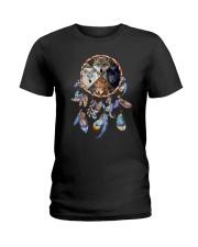 Wolf Dreamcatcher 2106 Ladies T-Shirt thumbnail