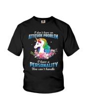 Unicorn - I have personality Youth T-Shirt thumbnail