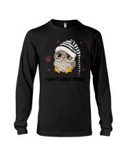 Owl Adult Today Long Sleeve Tee thumbnail