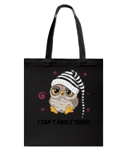 Owl Adult Today Tote Bag thumbnail