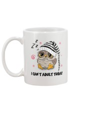 Owl Adult Today Mug back