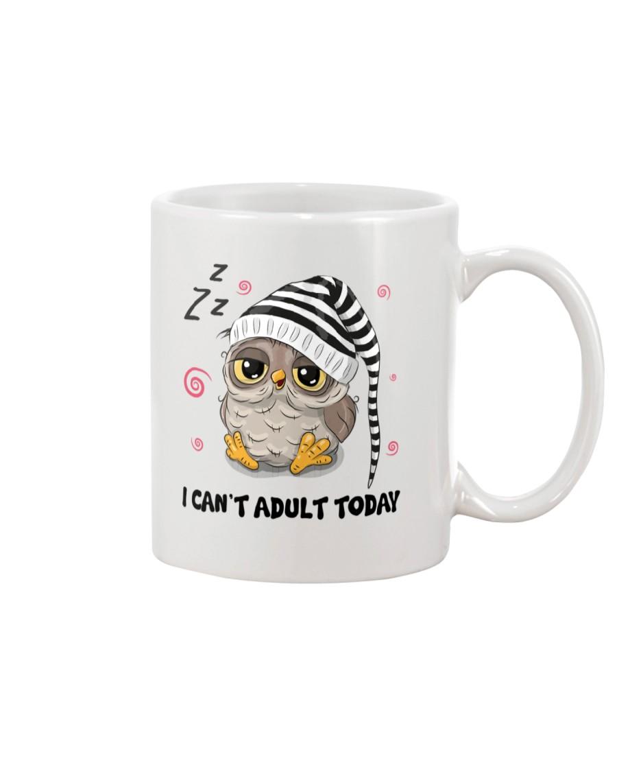 Owl Adult Today Mug