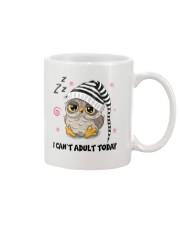 Owl Adult Today Mug front