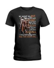 Viking Warrior Beard Ladies T-Shirt thumbnail