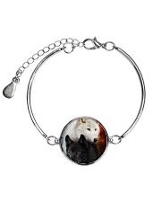 Wolf Yingyang 2006 Metallic Circle Bracelet thumbnail