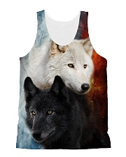 Wolf Yingyang 2006 All-over Unisex Tank front