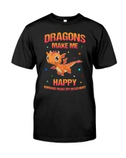 Dragon make me 2006 Classic T-Shirt front