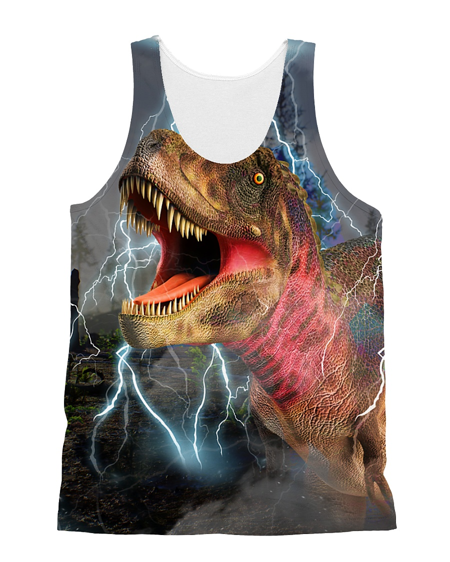 T-rex Cool 1606 All-over Unisex Tank