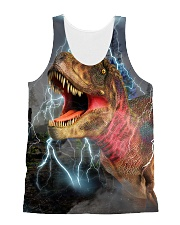 T-rex Cool 1606 All-over Unisex Tank front