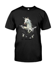 Unicorn In Pocket 2509 Classic T-Shirt front