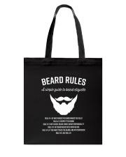 Rules of beard Tote Bag thumbnail