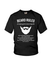 Rules of beard Youth T-Shirt thumbnail