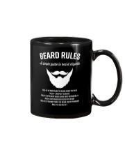 Rules of beard Mug thumbnail