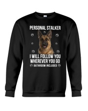 German Shepherd Stalker  Crewneck Sweatshirt thumbnail