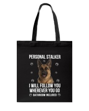 German Shepherd Stalker  Tote Bag thumbnail