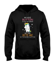 Unicorn nice button 0708 Hooded Sweatshirt thumbnail