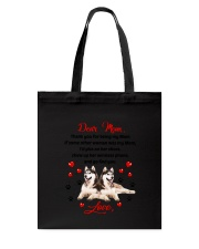 Siberian Husky Dear Mom 1906 Tote Bag thumbnail