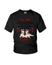 Siberian Husky Dear Mom 1906 Youth T-Shirt thumbnail