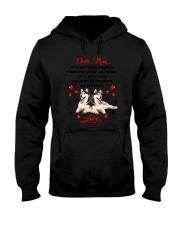 Siberian Husky Dear Mom 1906 Hooded Sweatshirt thumbnail