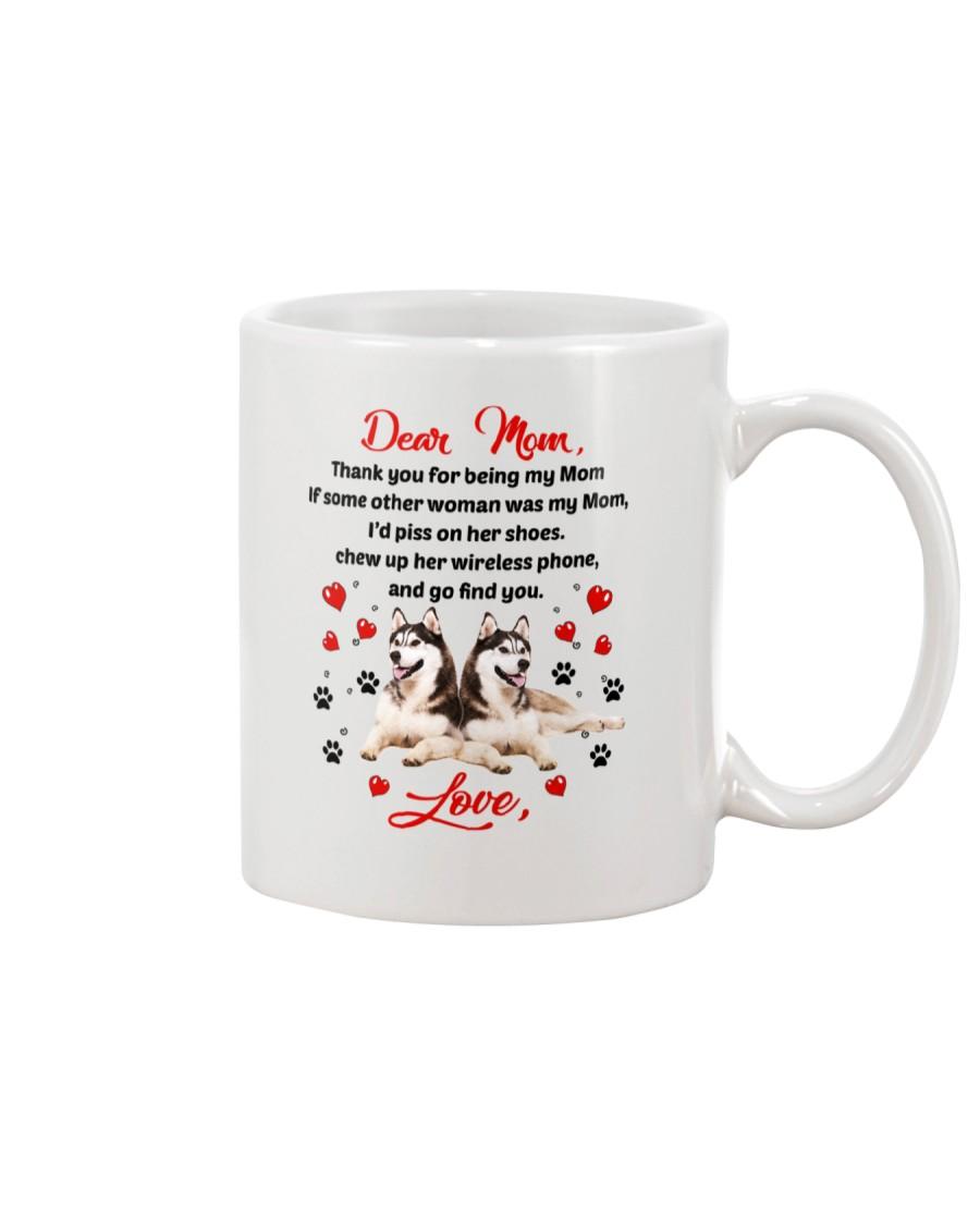 Siberian Husky Dear Mom 1906 Mug