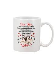 Siberian Husky Dear Mom 1906 Mug front