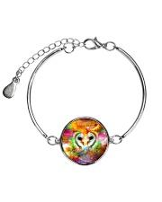 Owl Face To Face Metallic Circle Bracelet thumbnail