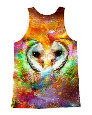 Owl Face To Face All-over Unisex Tank back
