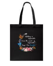 Butterfly Impossible 1007 Tote Bag thumbnail