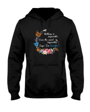 Butterfly Impossible 1007 Hooded Sweatshirt thumbnail