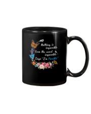 Butterfly Impossible 1007 Mug thumbnail