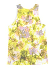 Chihuahua Happy Flowers 1406 All-over Unisex Tank back