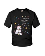 Unicorn Love you 2609 Youth T-Shirt thumbnail