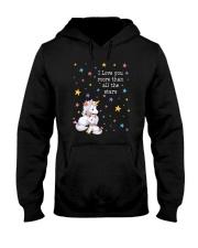 Unicorn Love you 2609 Hooded Sweatshirt thumbnail