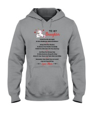 Unicorn To my daughter 1610 Hooded Sweatshirt thumbnail