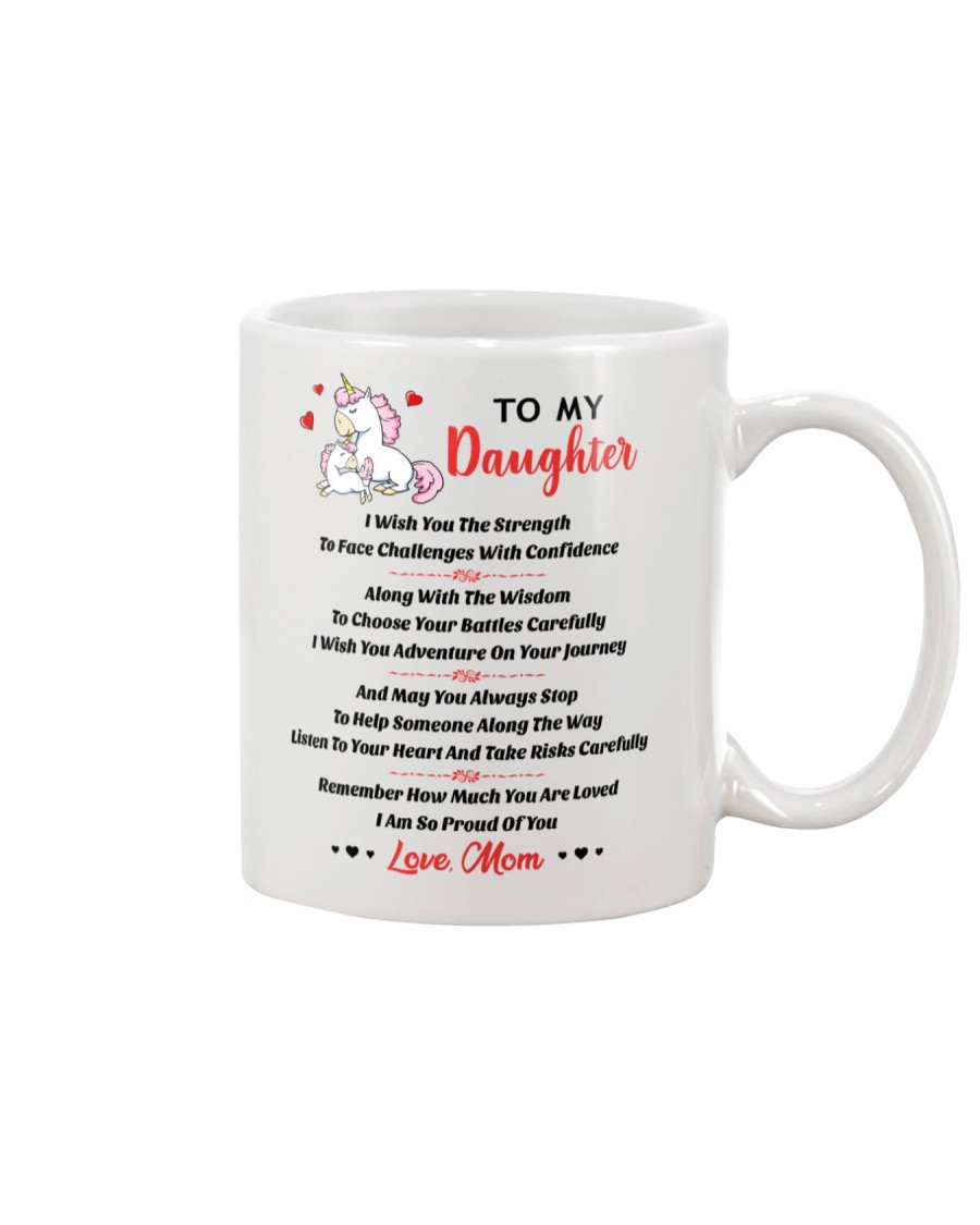 Unicorn To my daughter 1610 Mug
