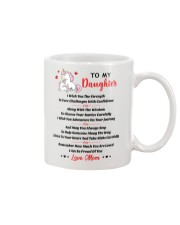 Unicorn To my daughter 1610 Mug front