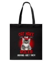 Cat Humans Tote Bag thumbnail