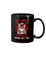Cat Humans Mug thumbnail