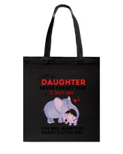 Elephant Father and Daughter 2006 Tote Bag thumbnail