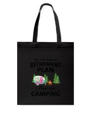 Camping Retirement 2106 Tote Bag thumbnail