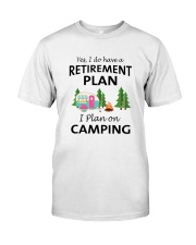 Camping Retirement 2106 Classic T-Shirt front