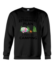 Camping Retirement 2106 Crewneck Sweatshirt thumbnail