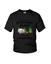 Camping Retirement 2106 Youth T-Shirt thumbnail