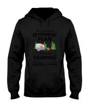 Camping Retirement 2106 Hooded Sweatshirt thumbnail